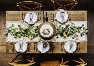 маса за гости
